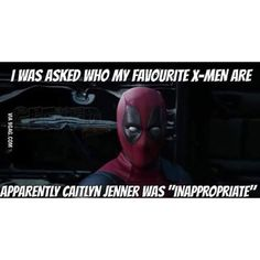 Follow for more #geektent all day everyday! No ... Deadpool not ex-men…