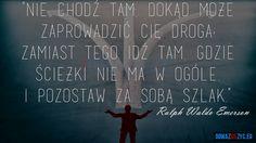 Twoja droga - Ralph Waldo Emerson