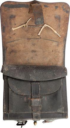 Military & Patriotic:Civil War, Civil War Pattern 1864 .58 Caliber Cartridge Box.... Image #2