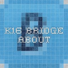K16 Bridge - This is an amazing resource that builds a strong bridge from school/education to jobs and careers.  It provides a vital link to help students identify their interests, develop possible career paths, understand what education and grades they must earn and schools they need to attend and earn in order to reach their career aspirations.  There is even a parent connection that helps parents save for college and notifies them if students are off course.  Wow!