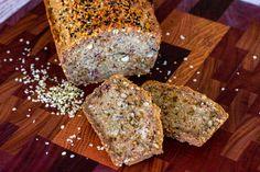 Mad Creations Ketogenic Paleo Hemp Seedy Bread