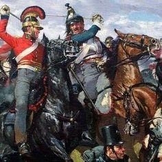 Karl Kopinski, Battle Of Waterloo, Napoleonic Wars, Lifeguard, Military Art, Photo Art, Art Drawings, Miniatures, Superhero