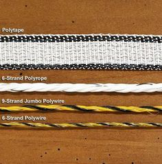 """Electric Polytape, Polyrope and Polywire 2"""" 14-Strand Polytape, 500-feet by Drs. Foster & Smith. $59.99"""
