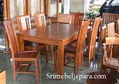 Set Meja makan minimalis yang indah dan elegan , yang kami desain dengan sangat meanrik hanya untuk anda . Dapatkan dengan harga yang istimewa dari kami