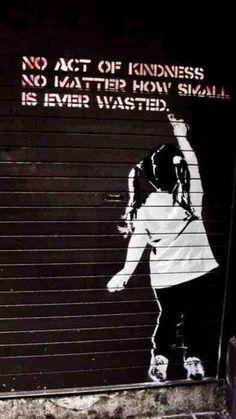 Ideas street art graffiti urban awesome banksy for 2019 Graffiti Artwork, Street Art Graffiti, Banksy Graffiti, Street Art Quotes, Banksy Canvas, Stencil Graffiti, Street Art Utopia, Urban Graffiti, 3d Street Art