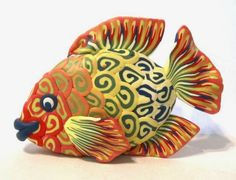 Creator's Joy: Polymer Clay Fish Sculpture Tutorial