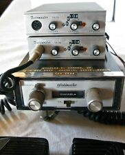 Fieldmaster Model TR-16 Citizens Band Radio CB Lot - 2 Mobile Transceiver 1 Base