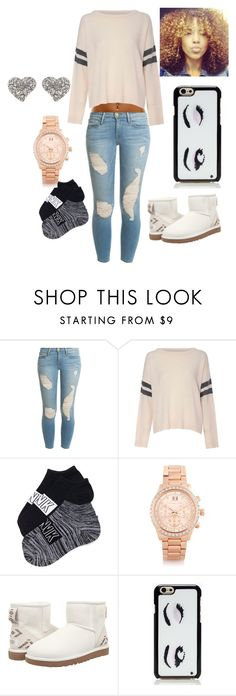 """Untitled #101"" by inasiamccullough on Polyvore featuring beauty, Frame Denim, Glamorous, Michael Kors, UGG Australia, Kate Spade and Oasis"