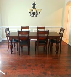 This solid wood dining room table can be in your home TODAY! | Houston, TX | Gallery Furniture |