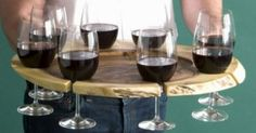wine tray must have! | Crafty | Pinterest | Trays, Wine and Wine Glass
