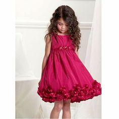 precioso vestido fucsia
