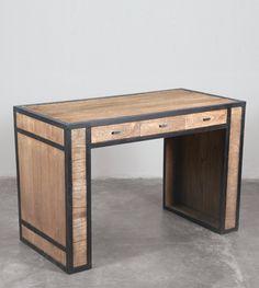 Interesting desk Stools For Kitchen Island, Best Desk, Office Desk, Corner Desk, Entryway Tables, Furniture, Home Decor, Corner Table, Desk Office