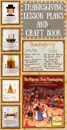 If you are looking for Thanksgiving activities for kids, here is an easy and educational lesson plan for your November Social Studies lessons! This printable book has a simple art project and writing lesson for each page and is perfect for your kindergarten or first grade elementary classroom. Your students will love the fun ideas in this lesson!