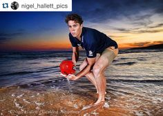 #Repost @nigel_hallett_pics with @repostapp.  Charlie Curnow dreams of an AFL future ahead of the draft at Jan Juc beach. @charliecurnow #geelongadvertiser #afl #afldraft #pickme #picoftheday #janjucbeach #sunset #aflvictoria #geelongfalcons #top10 #brightfuture #heraldsun #beach #victoria #australia #athlete #nikontop #nikonaustralia #football #jinbei #pocketwizard #nikond4s #sky #fitness #futurestar #aflvic by aflvictoria http://ift.tt/1X8VXis
