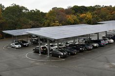 LIPA has initiated one of the largest solar carport installations in the US. It is expected that over 60,000 solar modules will be installed at parking lots across Suffolk County providing up to 17 MW's of solar power enough to power 1,850 homes. The it's wonderful!     Visit  http://theenergysolar.com