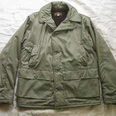 """U.S. NAVY 55J13 JACKET AL-1 FLIGHT JACKET&55H7 HOOD"""