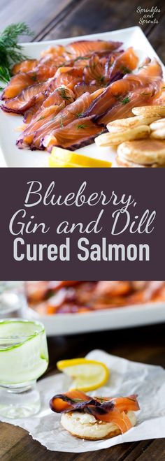Home cured salmon. A delicious twist on a traditional gravlax. Fruity…