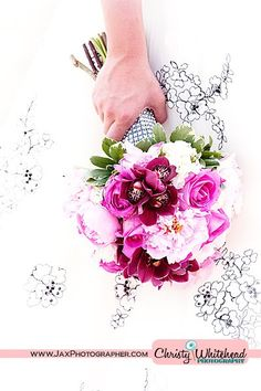 Peony bouquet by A Fantasy in Flowers. Photography by Christy Whitehead.