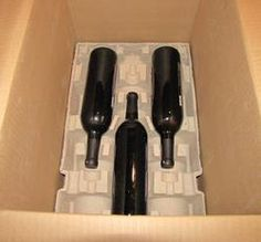 Wine and Beer shipping kits in pulp and foam for all bottle sizes Pulp trays with shipping boxes ISTA 3 A Certified and approved by FED EX and UPS contact ppova.com for pricing and orders