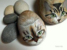 HAPPY ROCKS by rockpainting , yvette, via Flickr