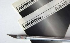 Letratone - Adhesive patterns that spiced up any drawing. They came in hundreds of patterns. I loved Letratone and had a huge collection.