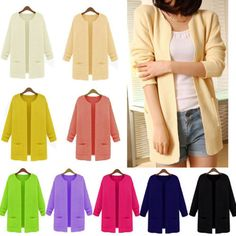 This item is now available in our shop.   New Arrival Vogue Womens Knitted Cardigan Outerwear Casual Loose Sweater Coat Tops Long OC8U C075 Hot - US $8.71 http://prowomenshop.com/products/new-arrival-vogue-womens-knitted-cardigan-outerwear-casual-loose-sweater-coat-tops-long-oc8u-c075-hot/
