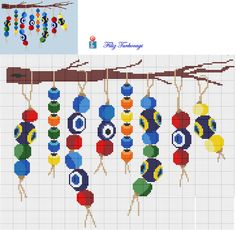 Cross Stitching, Cross Stitch Embroidery, Cross Stitch Patterns, Machine Embroidery, Tapestry Crochet Patterns, Easy Crochet Patterns, Cross Stitch Pillow, Crochet Christmas Ornaments, Yarn Shop