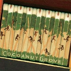 Los Angeles Cocoanut Grove Matchbook