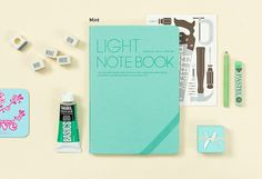 Light Lined Notebook