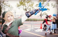 Link crossplay by @darkness0x0
