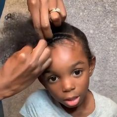 Black Baby Girl Hairstyles, Little Girls Natural Hairstyles, Cute Toddler Hairstyles, Kids Curly Hairstyles, Toddler Braids, Braids For Kids, Natural Hair Braids, Natural Hair Styles, Mixed Hair