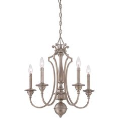 23.75 Inches High 21.5 Inches Wide 21.5 Inches Deep  Minka Lavery Wellington Ave. Midnight Gold Five Light Chandelier On SALE