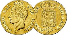 Netherlands (Holland) Ducat  1809 and 1810