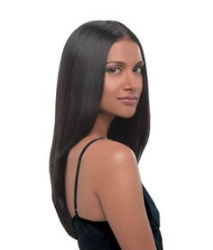 """The hairdo® multi-level, 22in straight one piece clip-in extension that creates easy, fashionable style without the hassle of working with several individual wefts. Short hair transforms into luxurious below the shoulder length hair. Long hair becomes thick and full. Clip-in for length and volume.   Available in 11 Salon inspired colors.     22"""" Straight Extension How-To Video"""