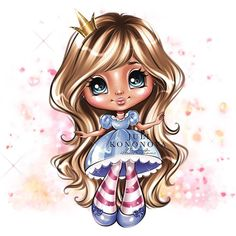 Dolly Doll, Fairy Drawings, Black Art Painting, Drawing Clipart, Coloring Pages For Girls, Baby Mouse, Mini Scrapbook Albums, Animated Cartoons, Cute Images