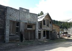 Marysville Ghost Town 5 by Falln-Stock on DeviantArt Abandoned Warehouse, Spooky House, Best Stocks, Water Damage, Urban Exploration, Ghost Towns, Montana, Castle, Cabin