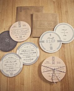 12 unique wedding invitations for the design-obsessed bride and groom | Wedding Party