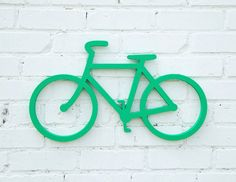 Bicycle Wall Decor Wooden Sign