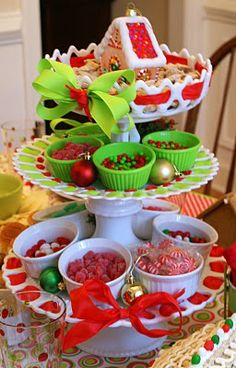 gingerbread house party or ice cream sundae?