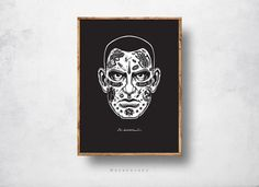 Words on faces on Behance
