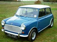 Iconic English. Mini Morris. I drove one of these in the 70s...