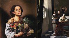 Актёра Тимоти Чаламета вставляют в классические произведения искусства.