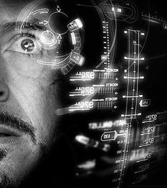 Frankie Iron Man Interface by frankdzines on DeviantArt Marvel Tony Stark, Iron Man Tony Stark, Arte Cyberpunk, Nick Fury, Downey Junior, Doctor Strange, The Villain, Robert Downey Jr, Man Photo