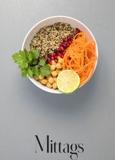 Buddha Bowl mit Kichererbsen 7 Tage Detox Plan, How To Eat Less, Snacks, Cobb Salad, Acai Bowl, Buddha, How To Plan, Vegetables, Cooking