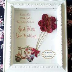 Happy Wedding in Frame! NAWSunday & Fatimah's Stuff menyediakan gift cantik untuk hadiah pernikahan kamu atau temanmu. ��  Tersedia ukuran 10R only 100 k dan 12R only 150k  Yuk lengkapi momen kebahagian pernikahan temanmu, dengan kado pernikahan ��  Bisa custom colour and quote lho!  Contact Order: Whatsapp: 08995523516/ 081221266729 COD untuk Wilayah Cirebon ��  #ProjectKitArt The Best Gift for Your Loved Ones: Art and Craft @nawsunday.popart @fatimahsstuff  #walldecor #wallprinting…