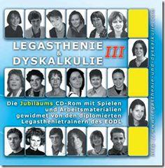 """CD-Rom """"Legasthenie & Dyskalkulie III"""" - live im Internet und zum gratis Download"""