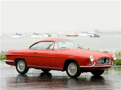 Alfa Romeo 1900 SS (Ghia), 1954 - 'Conrero' Maintenance/restoration of old/vintage vehicles: the material for new cogs/casters/gears/pads could be cast polyamide which I (Cast polyamide) can produce. My contact: tatjana.alic@windowslive.com