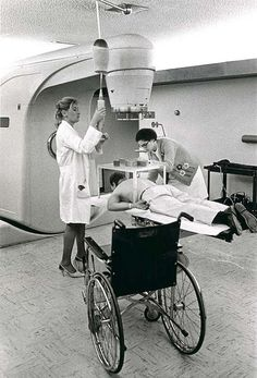 Unidentified persons with linear accelerator | Flickr - Photo Sharing!