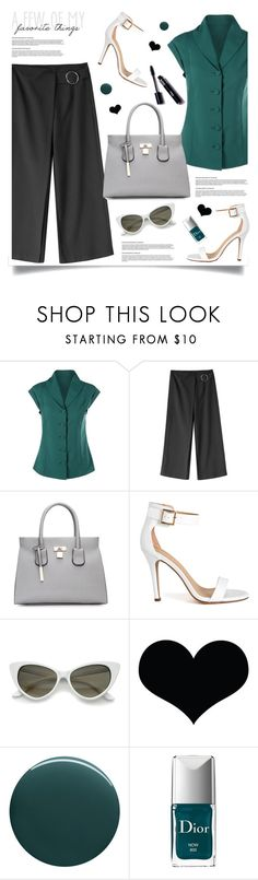 """Favorite things"" by tamara-p ❤ liked on Polyvore featuring Brika, Deborah Lippmann, Christian Dior, Favorite and GREEN"