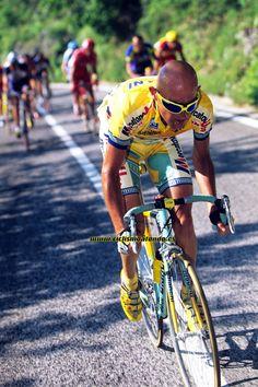 Fotos de Graham Watson. Marco Pantani